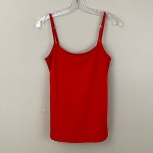 NY & Co. Red Adjustable Cami